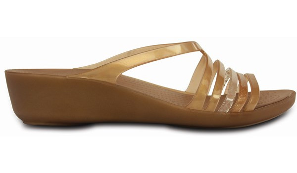 Isabella Mini Wedge, Bronze 1