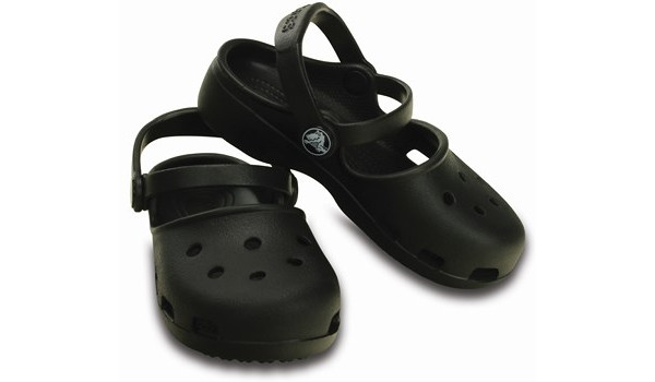 Kids Karin Clog, Black 4