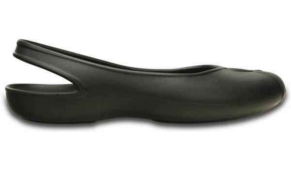Olivia II Flat , Black 1