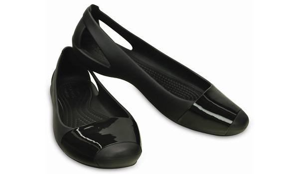Sienna Shiny Flat, Black/Black 4