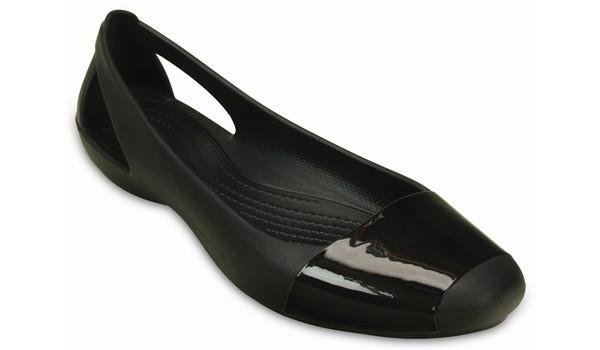 Sienna Shiny Flat, Black/Black 5