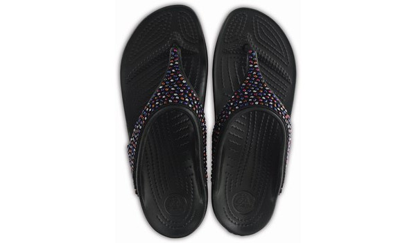 Sloane Embellished Flip, Black/Multi 6