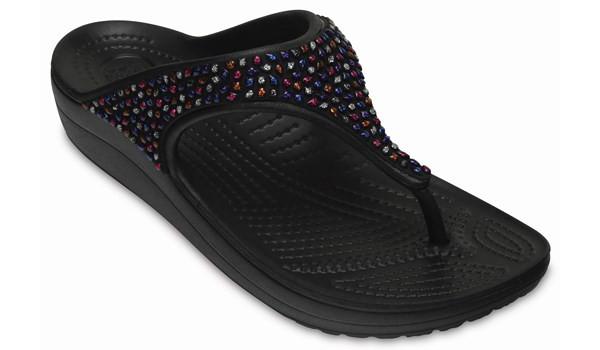 Sloane Embellished Flip, Black/Multi 5