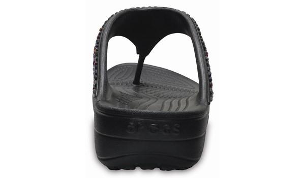 Sloane Embellished Flip, Black/Multi 2