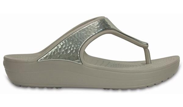 Sloane Embellished Flip, Platinum 1