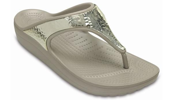Sloane Embellished Flip, Platinum 5