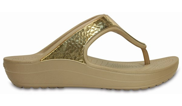 Sloane Embellished Flip, Gold 1