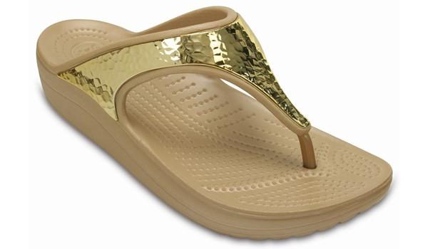 Sloane Embellished Flip, Gold 5