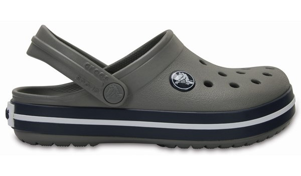 Kids Crocband, Smoke/Navy 1