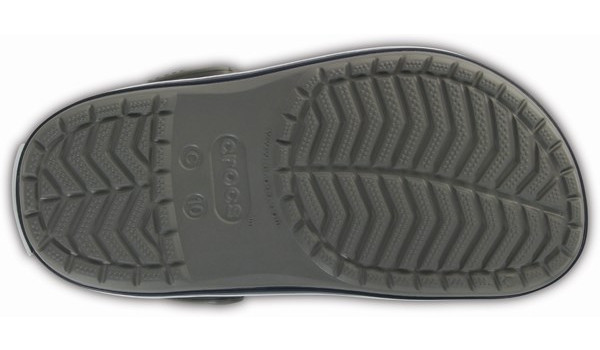 Kids Crocband, Smoke/Navy 3