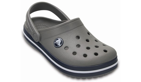 Kids Crocband, Smoke/Navy 5