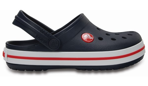 Kids Crocband, Navy/Red 1
