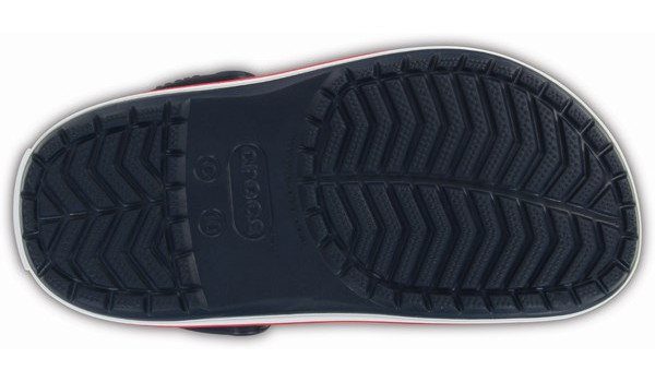 Kids Crocband, Navy/Red 3