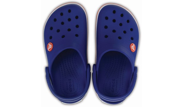 Kids Crocband, Cerulean Blue 6