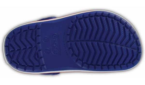 Kids Crocband, Cerulean Blue 3