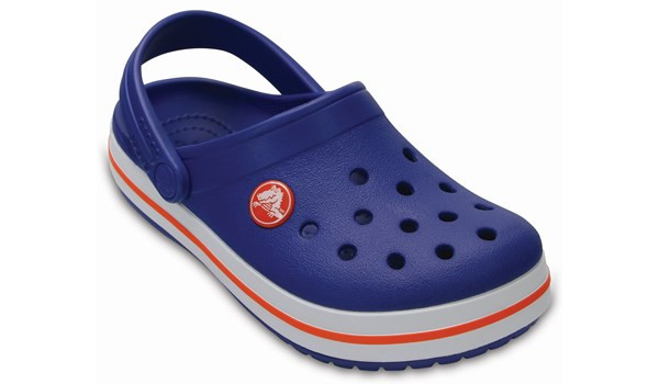 Kids Crocband, Cerulean Blue 5