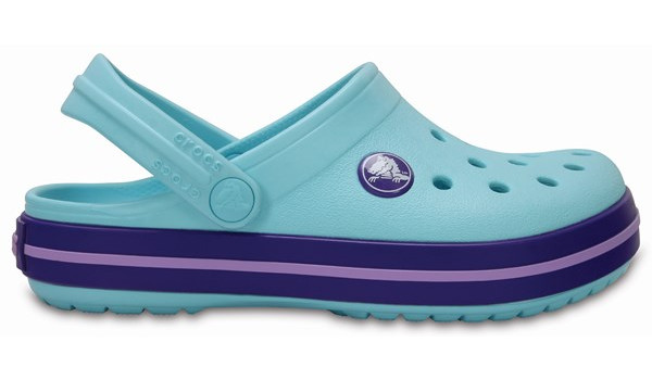 Kids Crocband, Ice Blue 1
