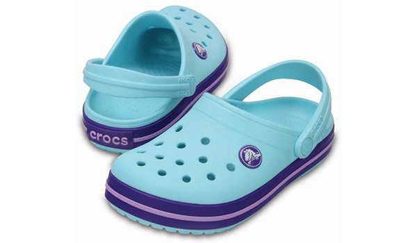 Kids Crocband, Ice Blue 4