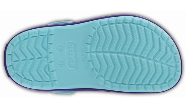 Kids Crocband, Ice Blue 3