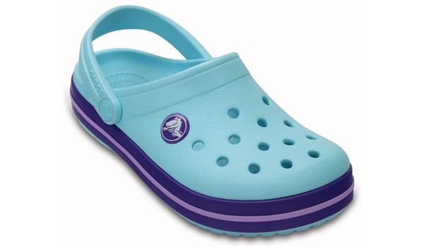 Kids Crocband, Ice Blue 5