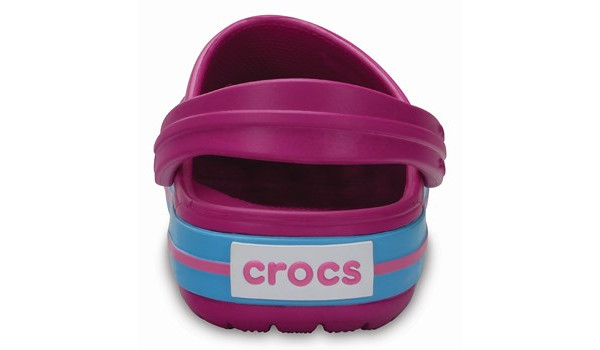 Kids Crocband, Vibrant Viola 2
