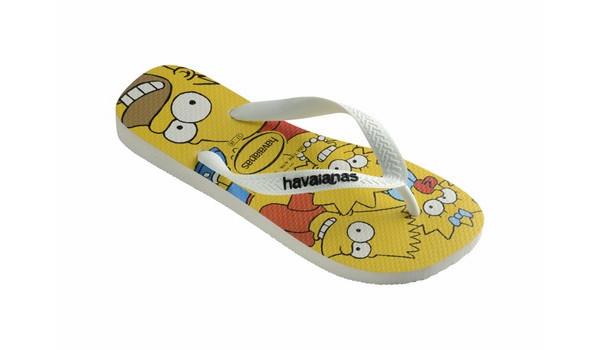 Simpsons Flip, White 3