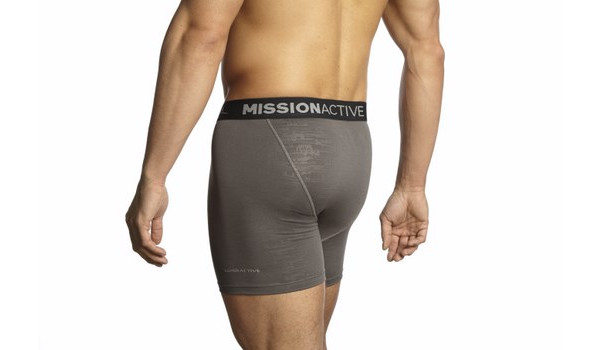 Vaporactive Boxer Briefs, Black/Charcoal 4