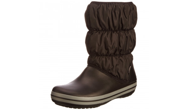 Winter Puff Boot, Black/Charcoal 4