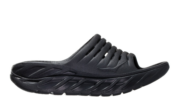 Ora Recovery Slide 2 Men, Black/Black 1