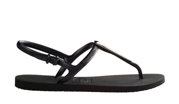 Freedom Maxi Sandal, Black 2