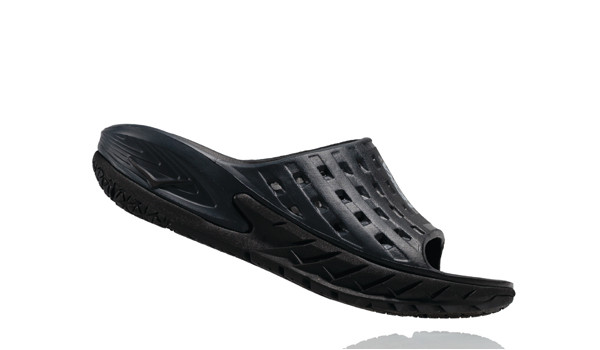 Ora Recovery Slide Men, Black/Antracit 2