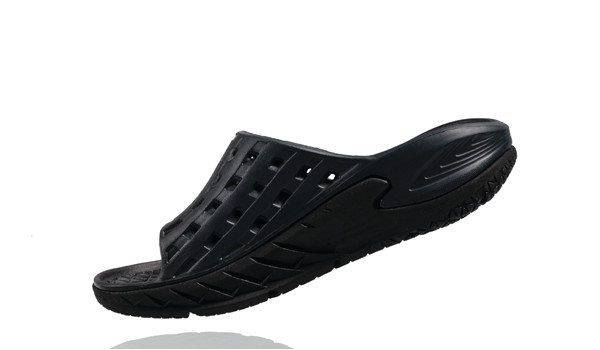 Ora Recovery Slide Men, Black/Antracit 5