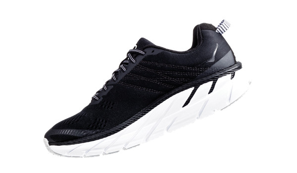 Clifton 6 Men, Black/White 4