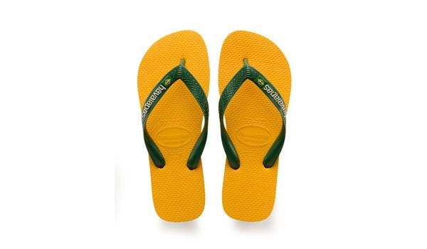 Brasil Logo Flip, Banana Yellow 4