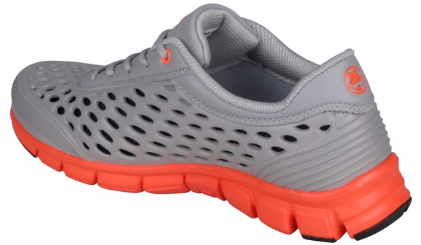 Sira Sneaker, Grey/Orange 2