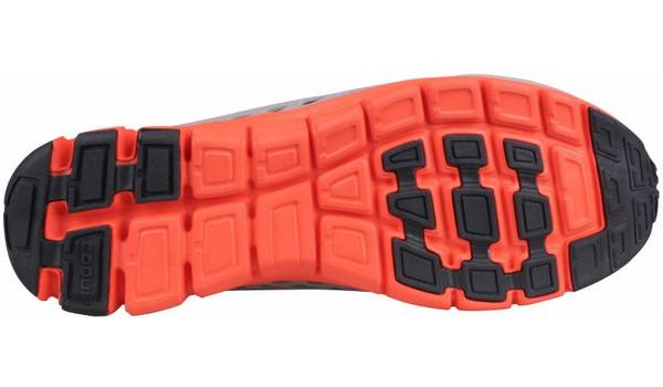 Sira Sneaker, Grey/Orange 3