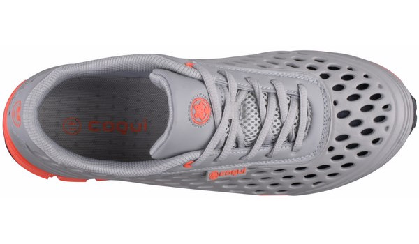 Sira Sneaker, Grey/Orange 5