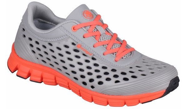 Sira Sneaker, Grey/Orange 4