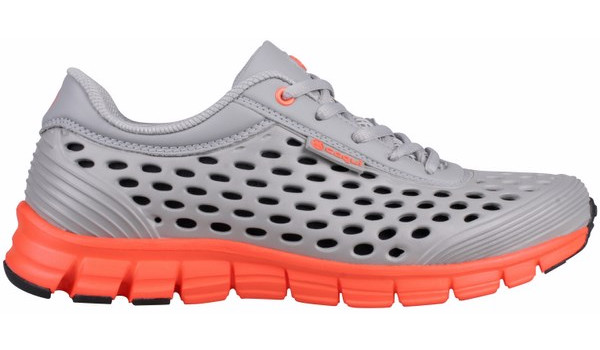 Sira Sneaker, Grey/Orange 1