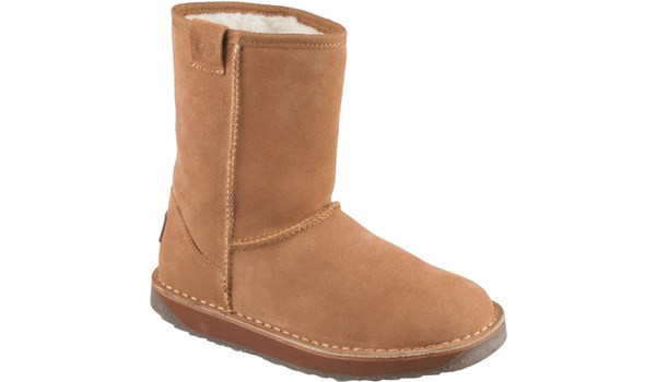 Coqui Short Boot, Brown 4
