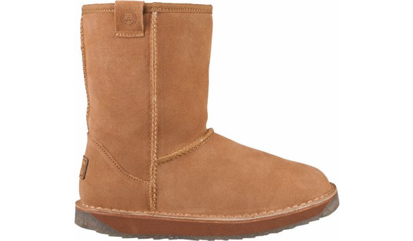 Coqui Short Boot, Brown 1
