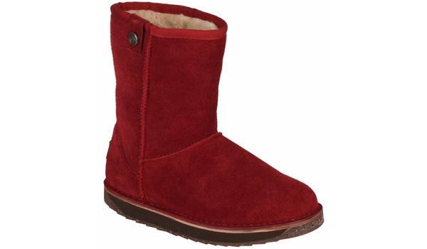 Coqui Short Boot, Burgundy 4