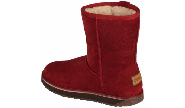 Coqui Short Boot, Burgundy 2
