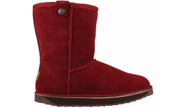 Coqui Short Boot, Burgundy 1