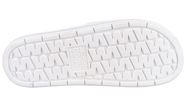 Rune Slipper, White 3