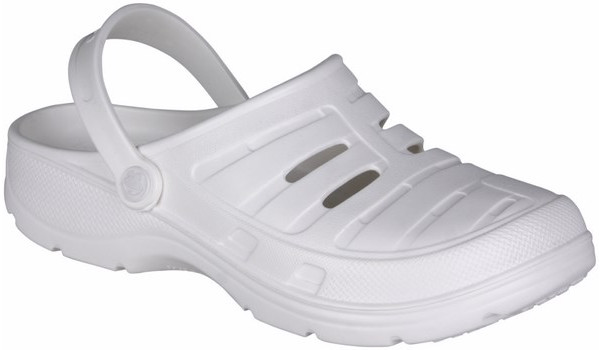 Kenso Work Clog, White 4