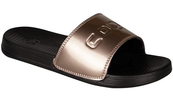 Sana Slipper, Black/Bronze 4