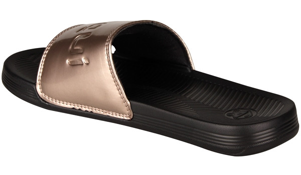 Sana Slipper, Black/Bronze 2