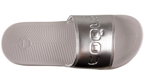 Sana Slipper, Khaki Grey/Silver 5