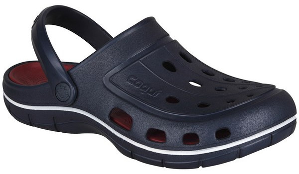 Jumper Clog, Navy/Dark Red 4
